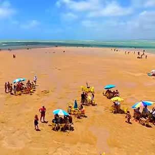 Piscinas de Areia Vermelha